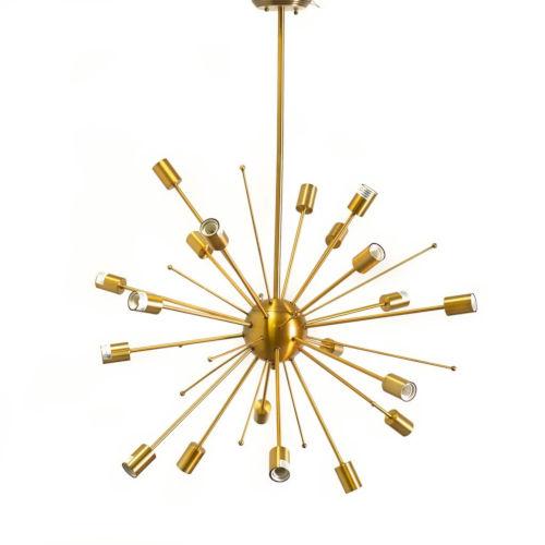 Edisonna II Gold 20-Light Chandelier