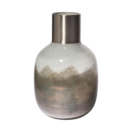 Onega I Gradient Blue Glass Gourd Vase