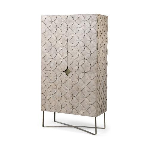 Excelsior II Light Brown Storage Cabinet