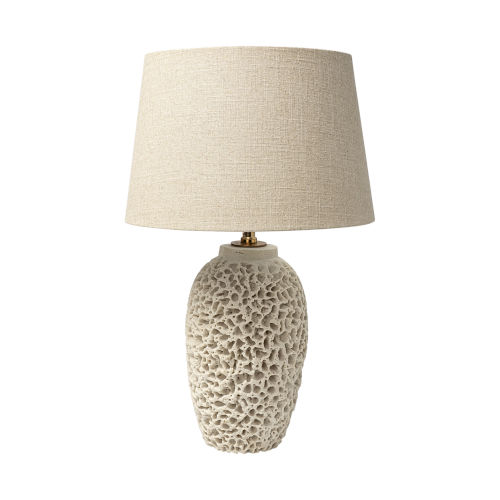 Mariam Beige One-Light Table Lamp