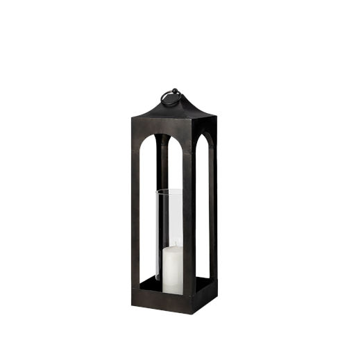 Ina Charcoal Candle Holder