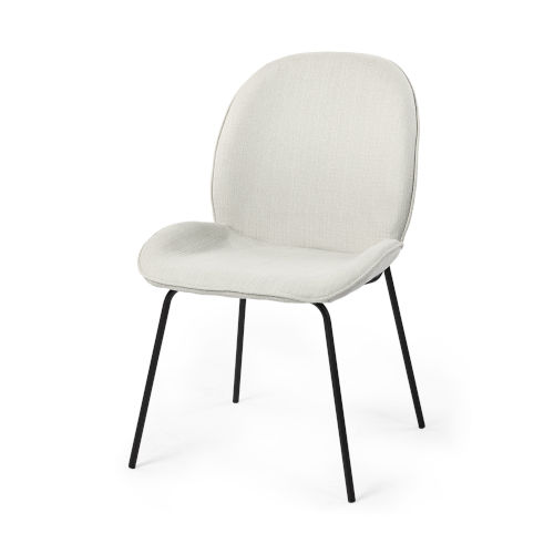 Inala White Dining Chair