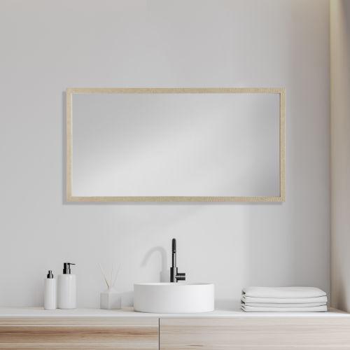 Tan 20 X 40 In. Wall Mirror