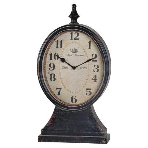 Aster Black Clock