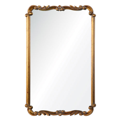 Wellington Gold Rectangular Mirror