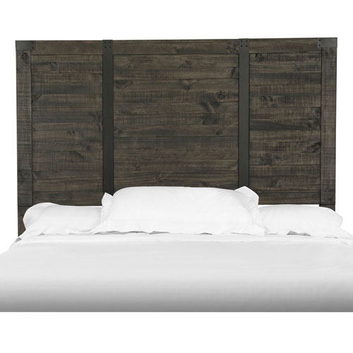 River Station Panel Bed Headboard - Queen