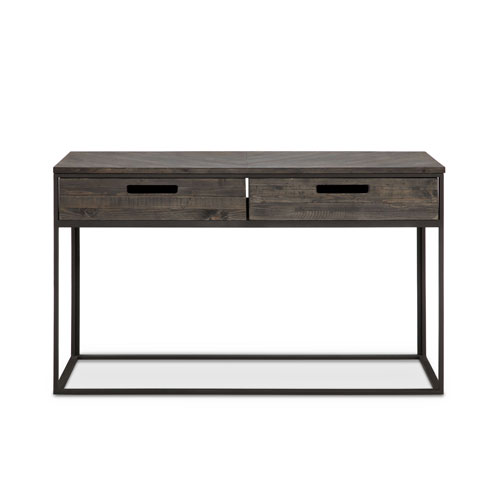 251 First Fulton Rectangular Sofa Table in Weathered Charcoal