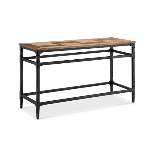 251 First Fulton Rectangular Sofa Table in Light Umber