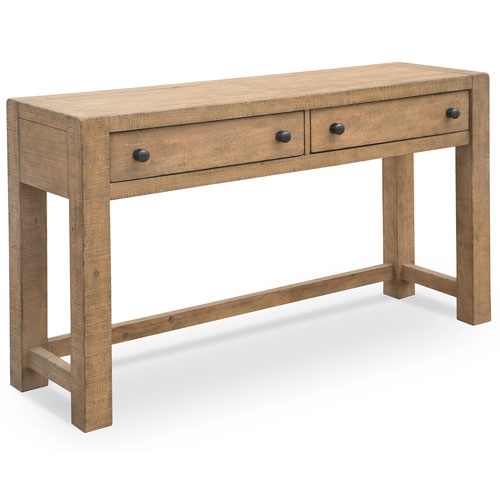 251 First Fulton Weathered Toffee Rectangular Console Table