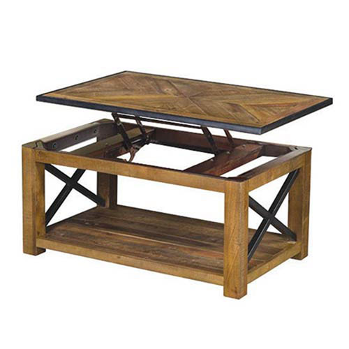 251 First River Station Natural Sienna Lift-Top Cocktail Table
