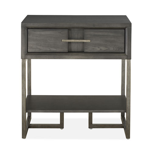 Cooper Luxe Living 1 Drawer Open Nightstand
