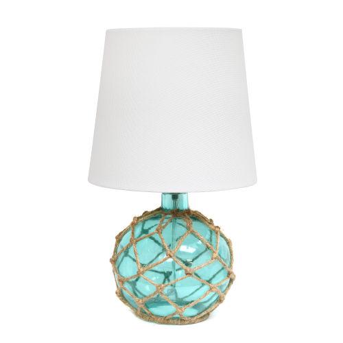 Marigold Aqua White One-Light Table Lamp