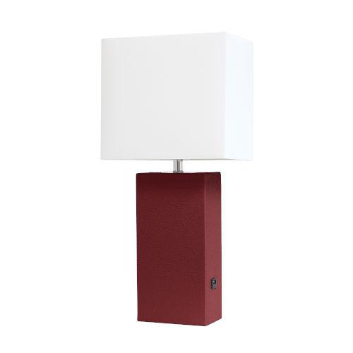 Poppy Red One-Light Table Lamp