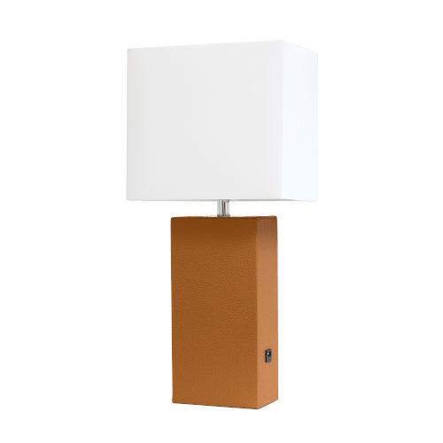 Poppy Tan One-Light Table Lamp