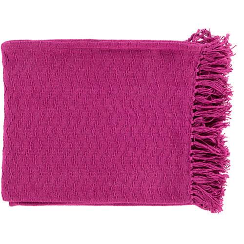 Loring Pink Throw