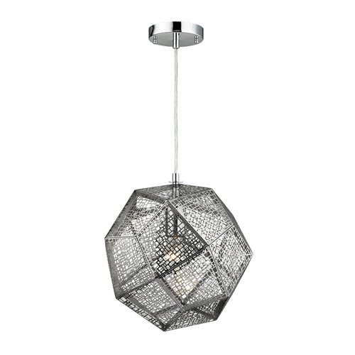 Uptown Polished Chrome One-Light Pendant