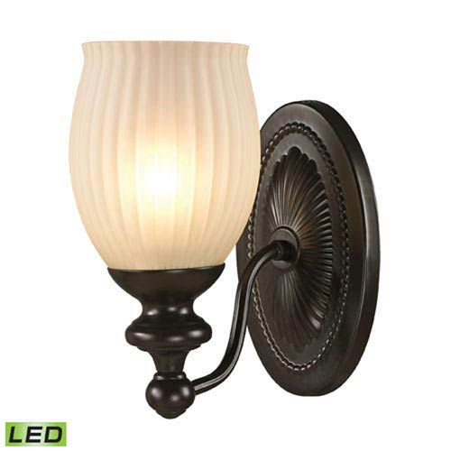 251 First Evelyn Oil Rubbed Bronze LED One-Light Vanity