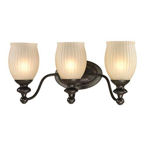 251 First Evelyn Oil Rubbed Bronze Three-Light Vanity