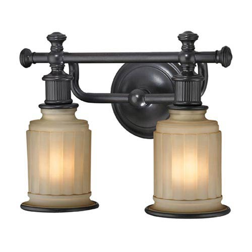251 First Evelyn Oil Rubbed Bronze Two-Light Vanity