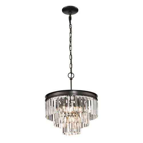 Vivian Oil Rubbed Bronze Four-Light Pendant