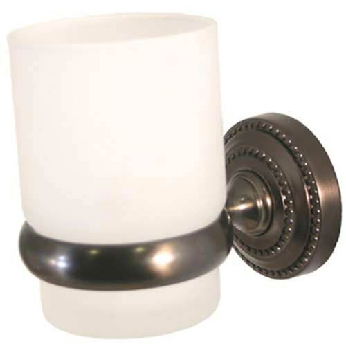Wellington Oil Rubbed Bronze Wall-Mounted Tumbler Holder