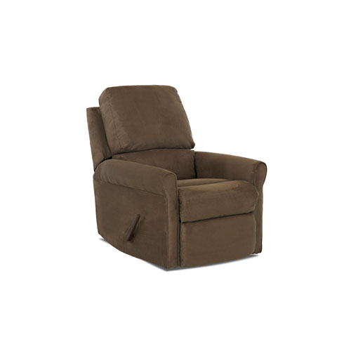 Aster Brown Reclining Rocking Chair