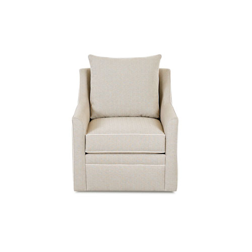 251 First Whittier Beige Swivel Chair