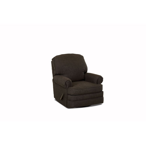 251 First Grace Swivel Gliding Reclining Chair, Charcoal