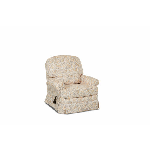 Grace Swivel Gliding Reclining Chair, Daisy