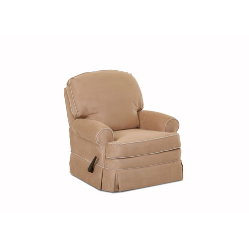 Grace Swivel Gliding Reclining Chair, Khaki