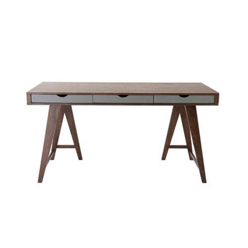 251 First Loring Walnut Desk 59x30