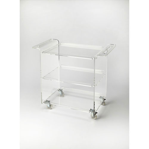 Cooper Crystal Clear Trolley Server