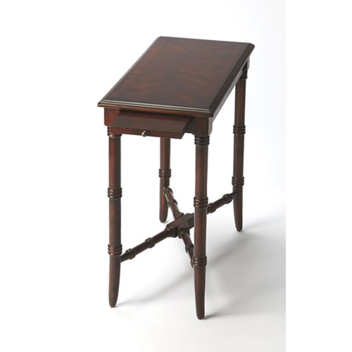 251 First Evelyn Cherry Chairside Table
