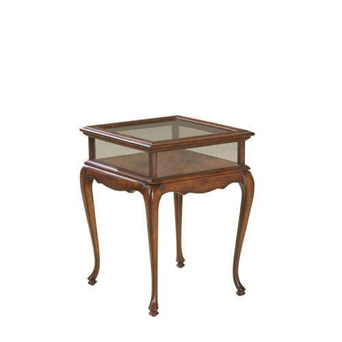 Evelyn Plantation Cherry Curio Table