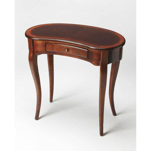 Evelyn Antique Cherry Writing Desk