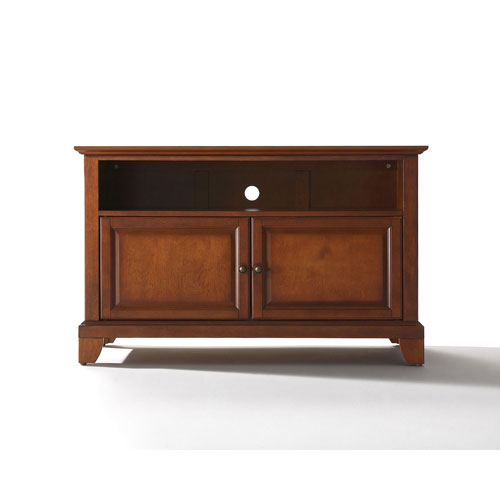 251 First Evelyn 42-Inch TV Stand in Classic Cherry Finish