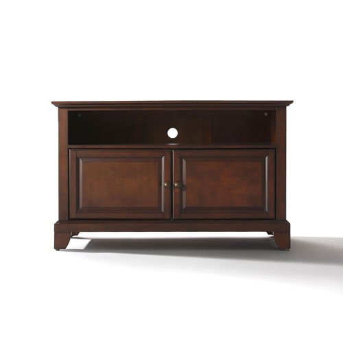 251 First Evelyn 42-Inch TV Stand in Vintage Mahogany Finish