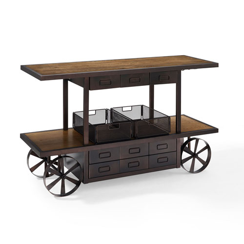 River Station Coffee Entertainment Console