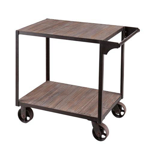 251 First Fulton Black Bar Cart