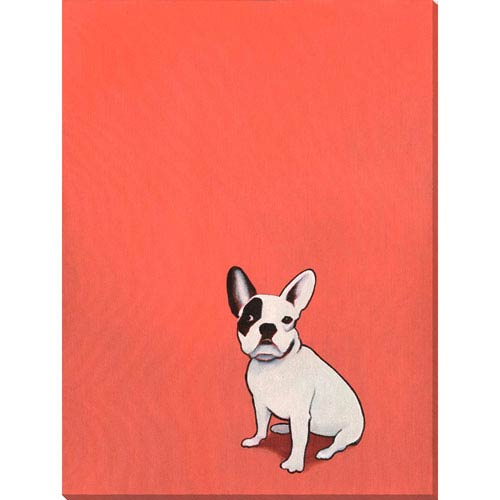 Grace Puppy Portrait II 21 x 28 In. Wall Art