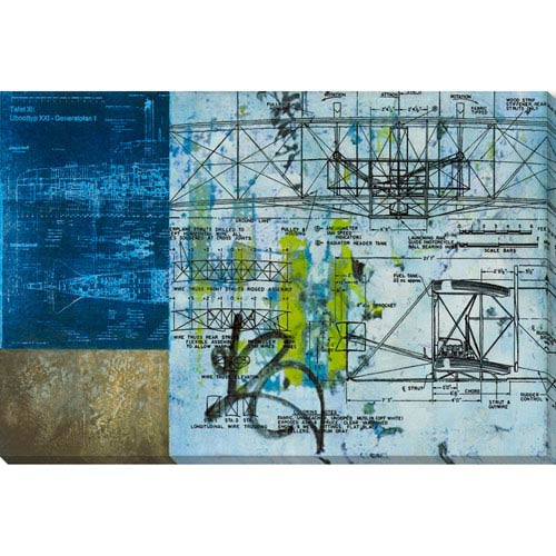 Fulton Blueprint 40 x 27 In. Wall Art