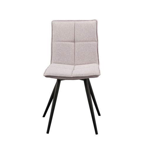 Nicollet Dining Chair T-Shirt Grey, Set of 2