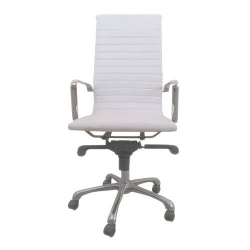 251 First Uptown High Back White Office Chair, Set of 2