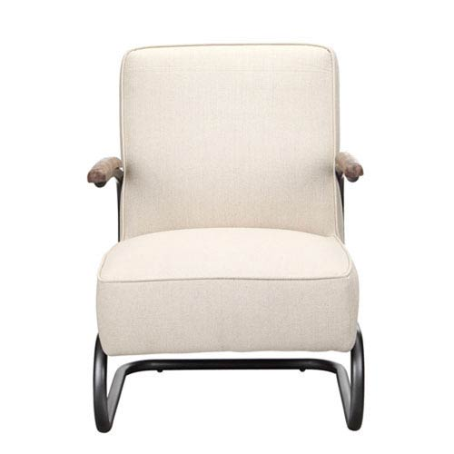 251 First Afton Beige Fabric Club Chair