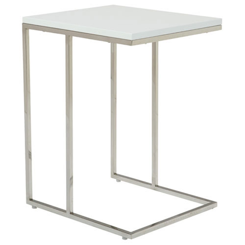 251 First Uptown White Side Table