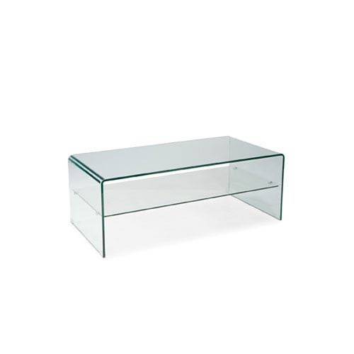251 First Uptown Glass Coffee Table