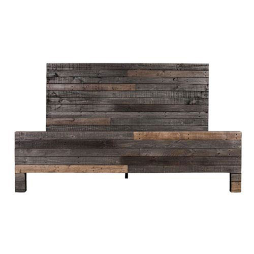251 First Afton Distressed California King Bed