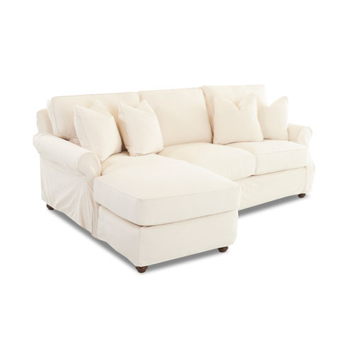 Grace Natural Slipcovered Sectional
