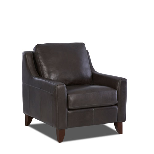 251 First Nicollet Steel Leather Chair