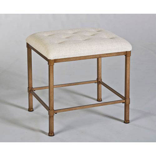 Whittier Bronze Backless Vanity Stool
